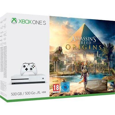 Xbox One S 500GB Assassins Creed Origins Bundle
