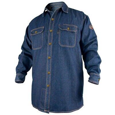 Revco Black Stallion Denim 8oz Fr Welding Shirt 2x-large Fs8-dnm