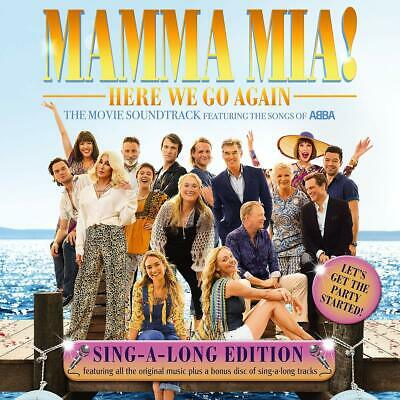 Mamma Mia! Here We Go Again Sing-A-Long Edition [2 CD]