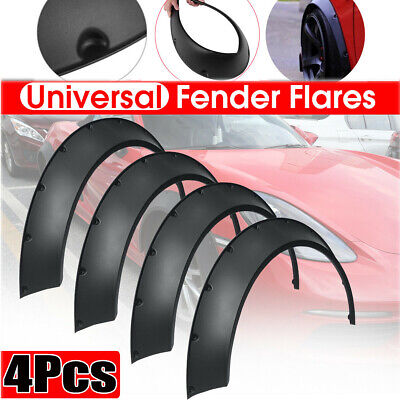 4 Universal Car Wheel Arch Fender Flares Widening for Benz BMW VW Ford Jeep USW