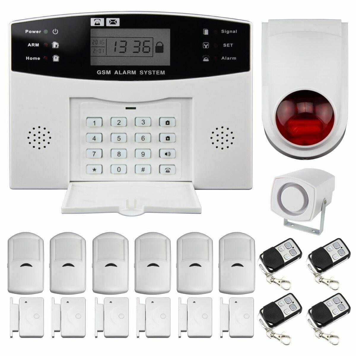 Host de alarma para sistema de alarma GSM Thustar
