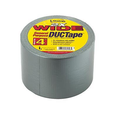 Intertape 4x55yd Silver Duct Tape