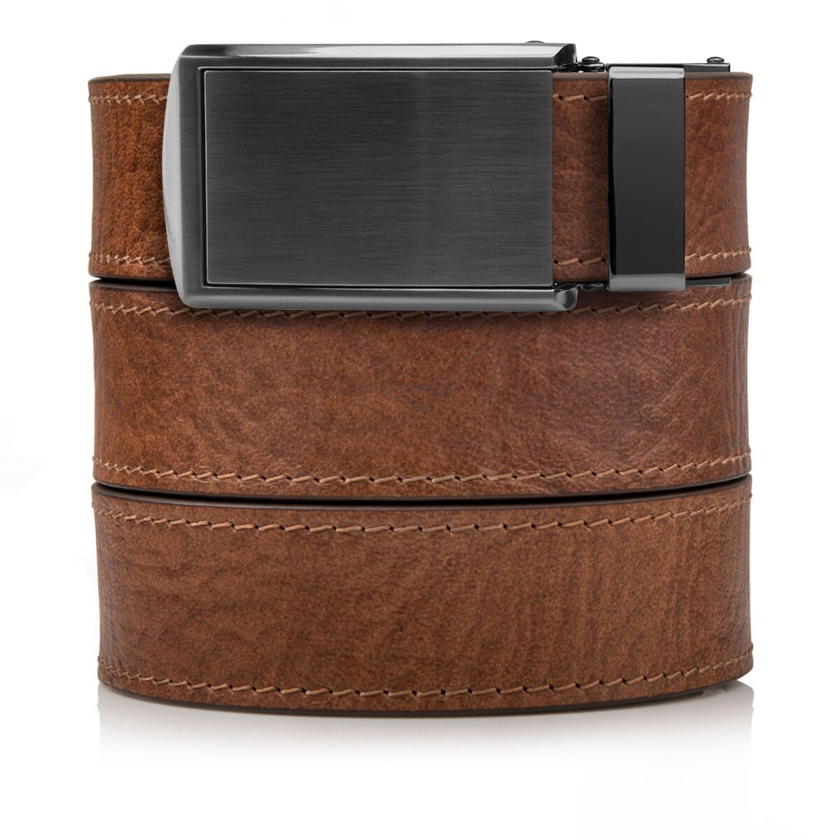 SlideBelts Factory Seconds Walnut Top Grain Ratchet Belt