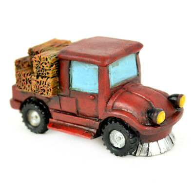 My Fairy Gardens Mini - Red Truck With Hay - Supplies