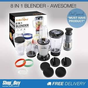 Free Delivery: 8in1 Magic Bullet Shape Blender 30PCS Fruit Juice Moorebank Liverpool Area Preview
