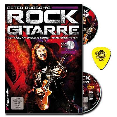 Peter Bursch's Rock Gitarre - Gitarre lernen ohne Noten + PLEK - 9783802402289