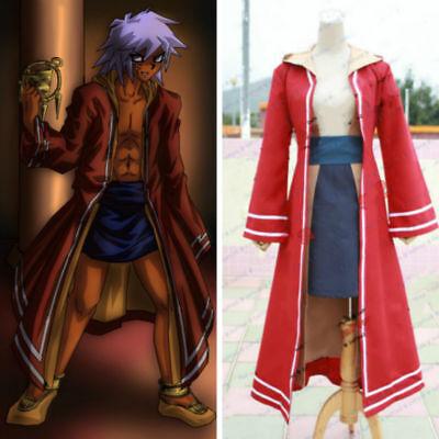 Yu-Gi-Oh! Dark Touzoku Bakura uniform Cosplay Costume custom made H.06