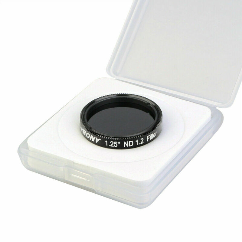 SVBONY SV139 1.25in ND16 Moon Filters Neutral Density Reduce Surfaces Brightness