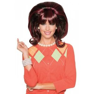 Peg Bundy Costume Wig Adult Peggy Funny Halloween Fancy Dress