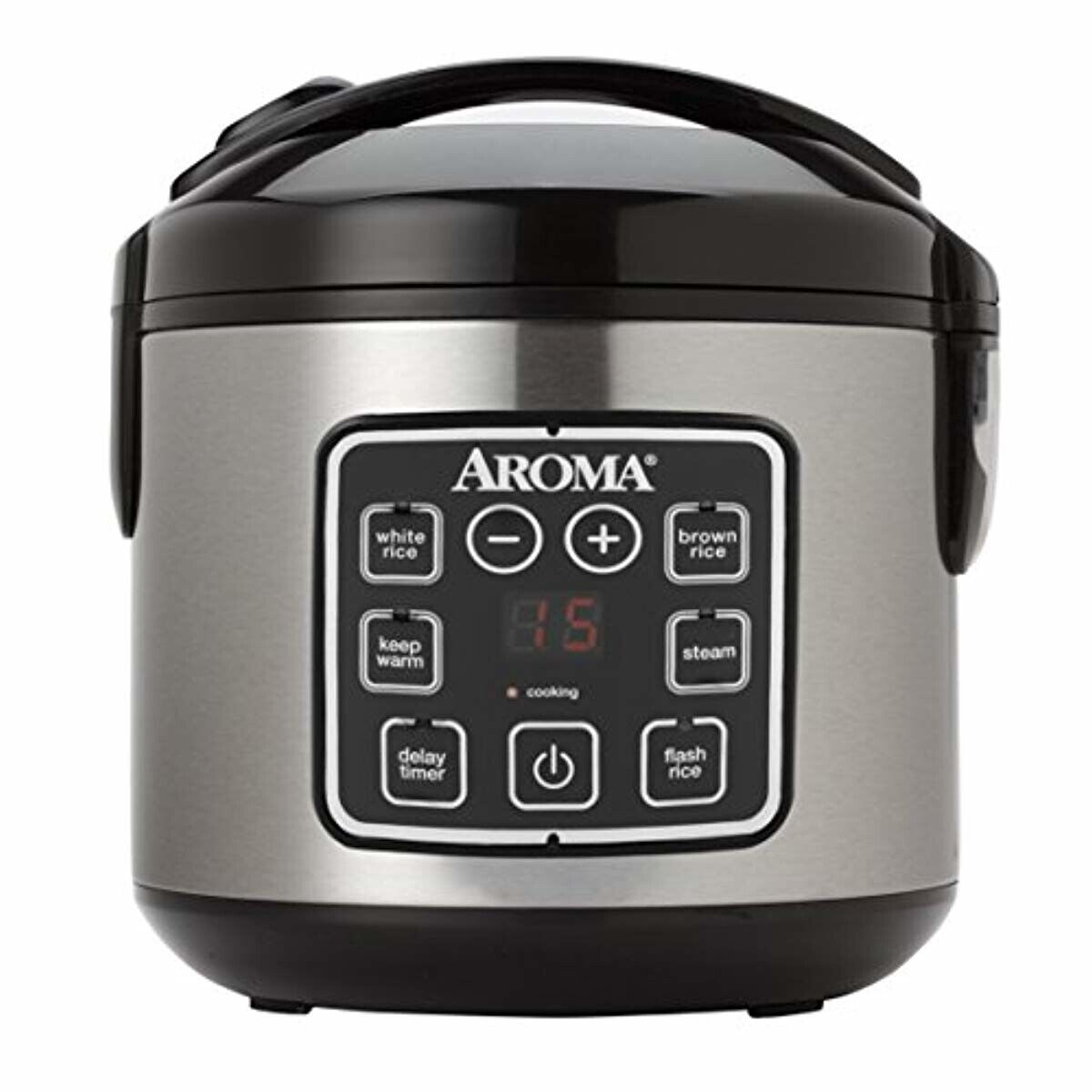 Aroma Housewares ARC-914SBD 2-8-Cups  Digital Cool-Touch Ric