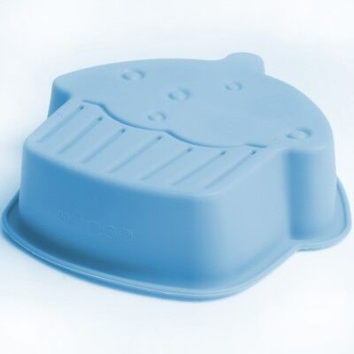 GIANT CUPCAKE SHAPED JELLY MOULD Reusable Silicone Cup Cake Outline Gelatin Mold