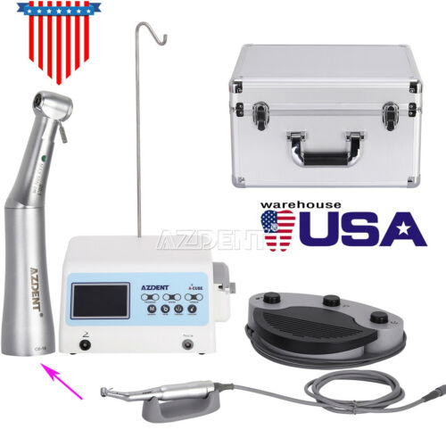 AZDENT Dental Implant Surgical System Brushless Motor + 20:1 Contra Angle