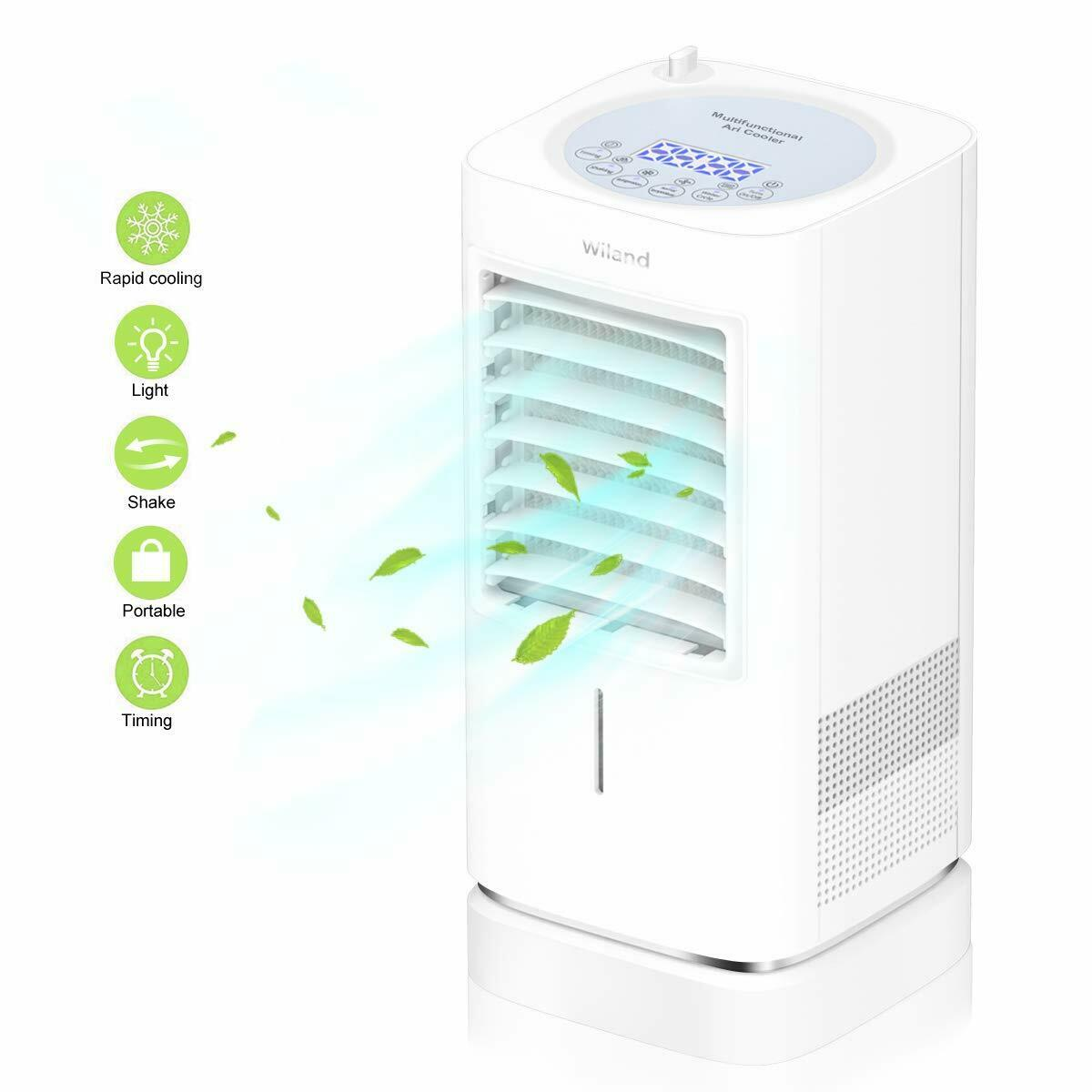 Air Cooler, Powerful Personal Air Conditioner Cooler Mini Ev