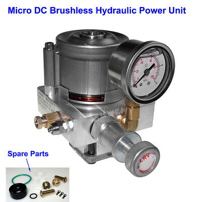 Electric Hydraulic Pump Power Pack Unit 12v Dc 10mpa Oil Pump Kit Single Acting