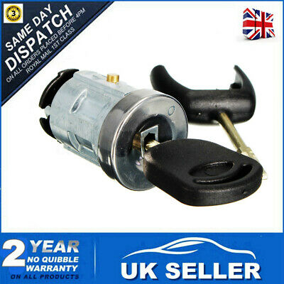 Ignition Switch & Lock Barrel Cylinder For Ford Transit MK7 06-ON + 2 Keys 06-14