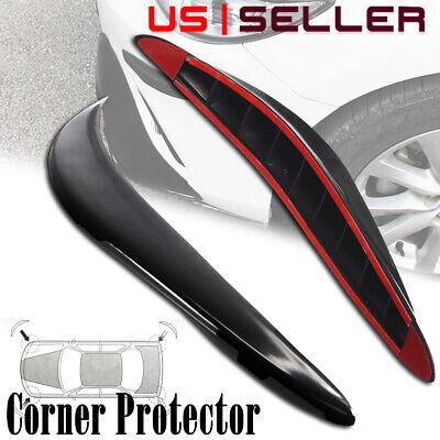 4pcs Car Accessories Bumper Corner Guard Cover Anti Scratch Protector Sticker US