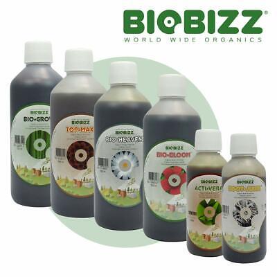 BioBizz Mega Pack 500ml - Bio-Bloom, Bio-Grow, Bio-Heaven, Acti-Vera, Root Juice