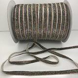 "New Hot 5 yards 3/8""10mm Sparkle Glitter Velvet Ribbon Headband Craft supplies#2"