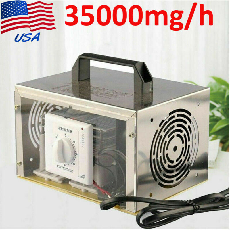 35000mg/h Ozone Generator Air Purifier Cleaner Disinfection Sterilizer Machine