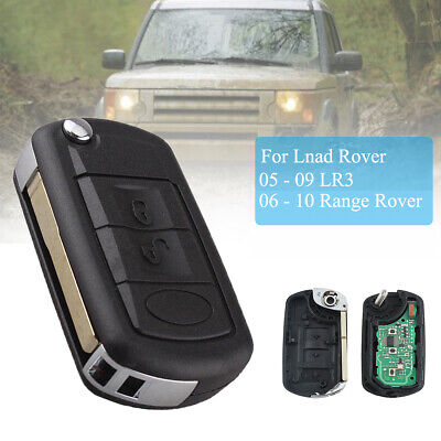 315MHz For Land Rover Discovery LR3 Keyless Entry Flip Remote Key Fob Uncut Chip