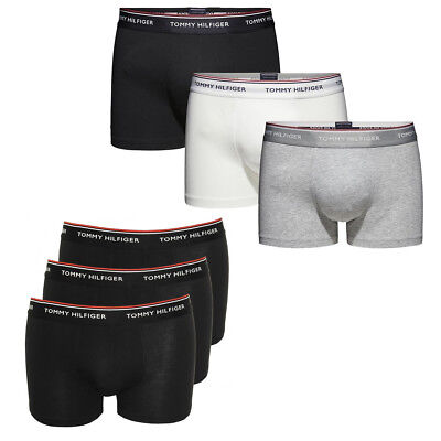 Tommy Hilfiger Premium Essentials Trunk Stretch Herren Boxershorts 3er Pack OVP ()