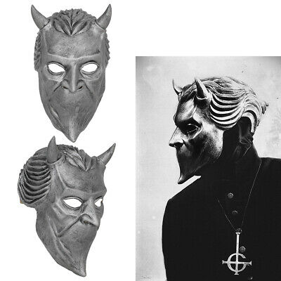 Ghost B.C Rock Roll Band Cosplay Mask Nameless Ghoul Costume Props Helmet Adult](Ghostly Ghoul Costume)