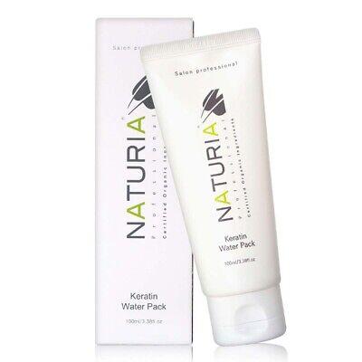 Naturia Keratin Water Pack 100ml Professional Certified Organic Ingredients