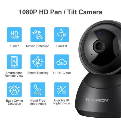 YI Cloud Wireless FHD 1080P WIFI IP Camera Home Security IR