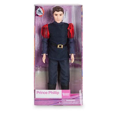 "Disney Store Sleeping Beauty Prince Phillip Doll 12"" NEW"