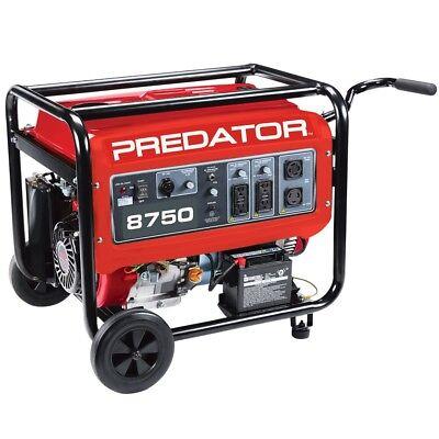 Predator 8750 Max Starting7000 Running Watts13 Hp 420cc Generator Epa Iii
