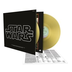 Star Wars: Episode IV - A New Hope OST Soundtrack - 2 x 180g Gold Vinyl LP *NEW*