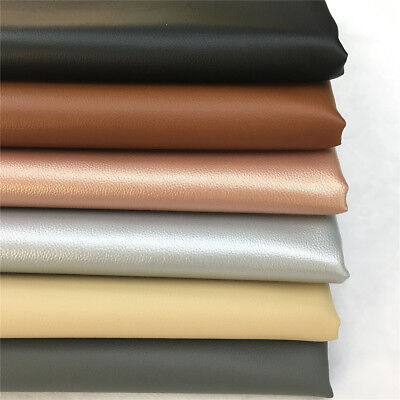 Synthetic Faux Leather Fabric Vinyl Craft Bag Upholstery Material Yard Sheet - Craft Materials