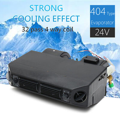 24V Universal Classic Car Air Conditioning Cold Evaporator 3 Speed for  HOT