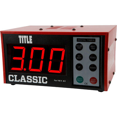 Title Boxing Classic XL Digital Personal Training Workout Interval Gym Timer