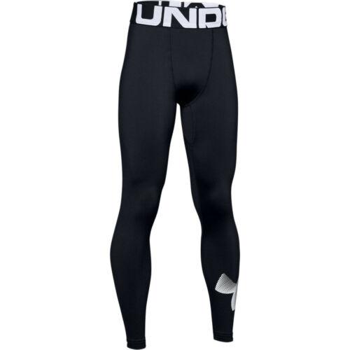 NWT Under Armour Boys Youth ColdGear Armour Leggings Black YXL XL 1343271 $40