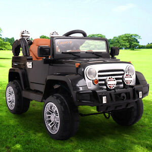 12v jeep style kids ride on truck battery powered electric car wremote control