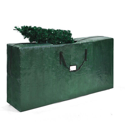 Christmas Tree Storage Bag Heavy Duty PE Large Container For 9ft Artificial Tree ()