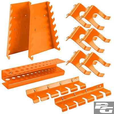 Werkzeughalter 11 tlg. für Werkzeugwand Werkzeugtafel Lochwand Haken Zubehör