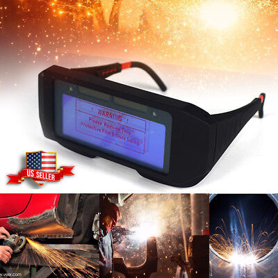 Solar Powered Auto Darkening Welding Mask Helmet Eyes Goggle Welder Glasses 2018