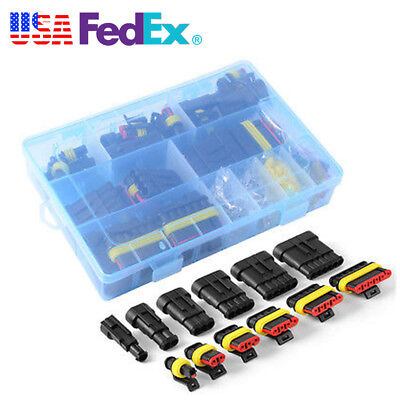 1 2 3 4 5 6 Pin Way Waterproof Car SUV Boat Electrical Connectors&Fuses With Box