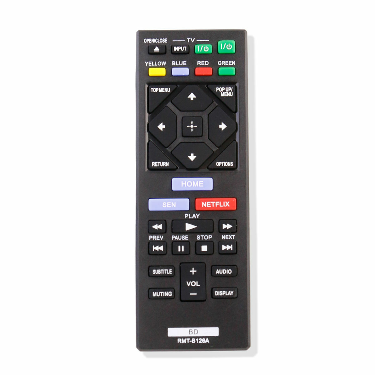 New RMT-B126A Remote Control For Sony Blu Ray DVD Player BDP