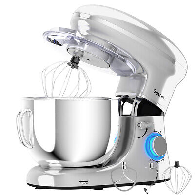 6 3qt tilt head food stand mixer