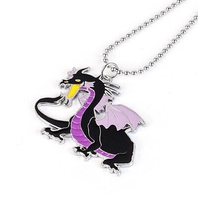 Disney Sleeping Beauty Maleficent Dragon Necklace Pendant Cosplay Gift (Disney Necklaces)