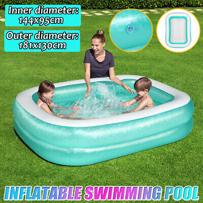 Family PVC Swimming Pool Garden Outdoor Summer Inflatable Kids Paddling Pool