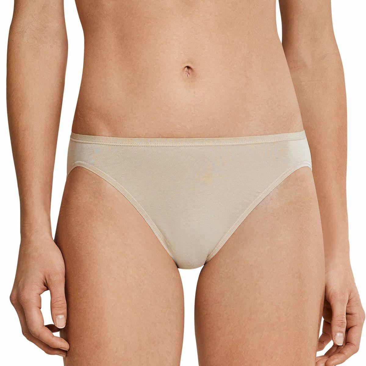 Schiesser Damen Slips, 3er Vorteilspackung Rio-Slips, Unterhosen, Neu