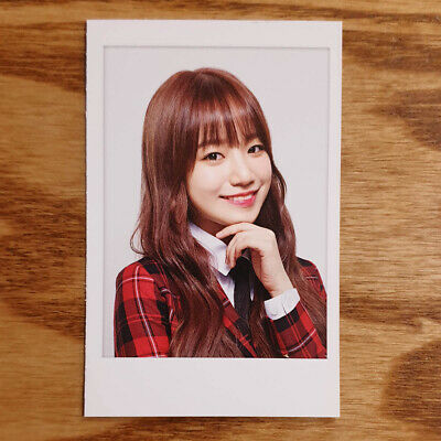 Yuri Official Skoolooks Promotion Photocard IZ*ONE Kpop Genuine IZONE