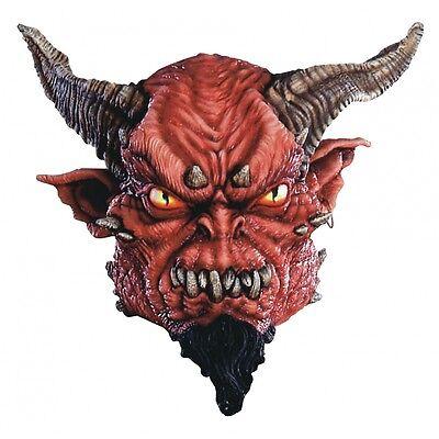 Devi Mask Adult Scary Demon Costume Halloween Fancy Dress