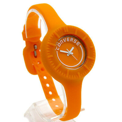 Converse Watch Ladies Silicone 'The Skinny II' Orange Silicone Rubber VR027-800