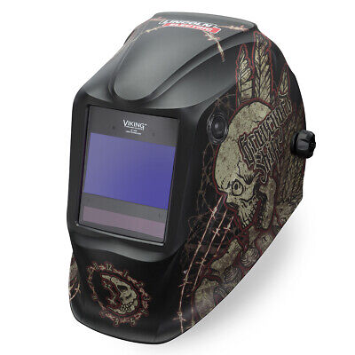 Lincoln Viking Graveyard Shift 2450 Welding Helmet K3099-4
