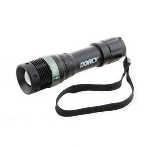 Dorcy-High-Beam-LED-Aluminum-Flashlight-130-Lumens-Water-Resistant-W-Strobe